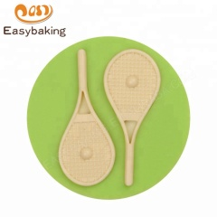 Tennis Player Racket Silicone Mould Wimbledon Sport Themed