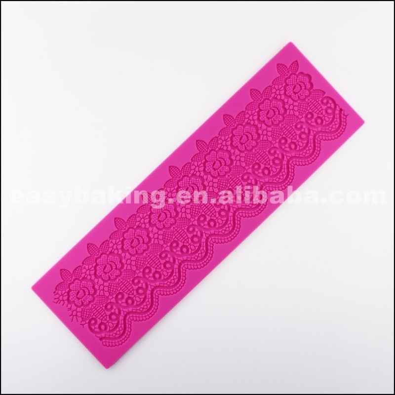 Popular Wholesale Items Silicone Cake Lace Mold Mats