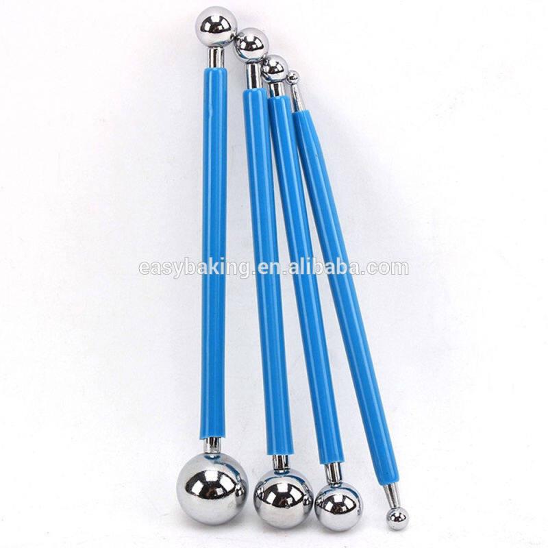 4pcs/set Stainless Molding Ball Sticks