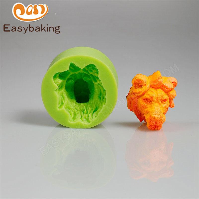 Lion fondant decoration fondant silicone mold