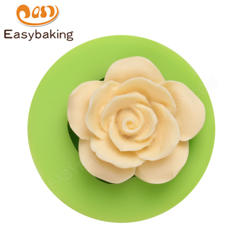 Silicone 3D flower Cake Decoration Mould
