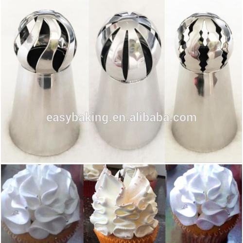 Food grade Russian piping tips nozzles Cake cup Nozzle,russian piping tips