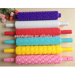 2017 The butterfly shape embossed rolling pins with fondant cake decorating