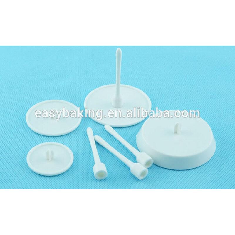 DIY 4 pcs display cups cake decoration baking tools icing flower nail set