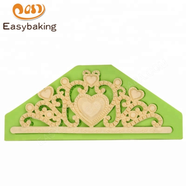 Queen Crown Silicone Cake Molds Tiara Fondant Cake Decorating Tools