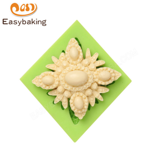 Unique Brooch Molds for Cake Decorating and Arts & Crafts