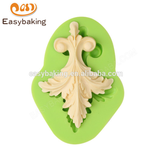 High quality custom wholesale 109*80*18 silicone cookie mold