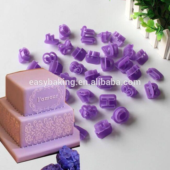 Alphabet Cake Decorating Tools Kitchen Bakeware Cookie Cutter