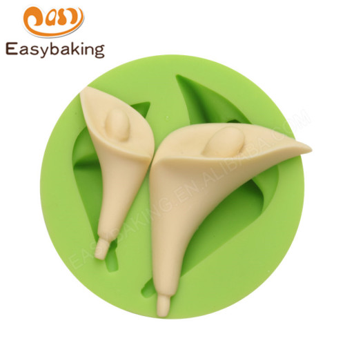 Flower series 2 piece Calla Lily Silicone Mold