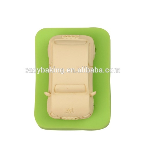 Factory price handmade car shape silicone soap molds craftwork making