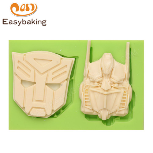 Transformers Fondant Silicone Cake Decoration Mould