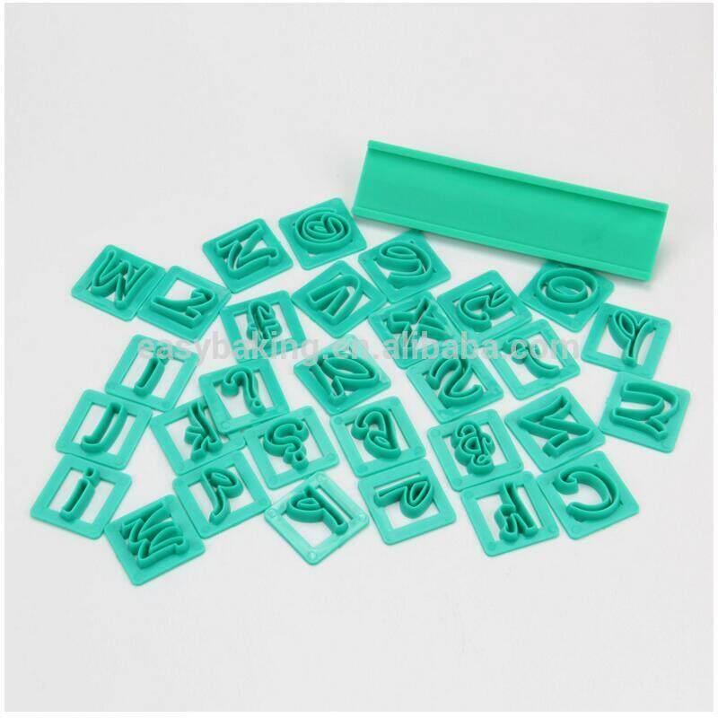 DIY Baking Tools 29 English Letters, Digital Symbols, Biscuits/Cake Decorative Stamp