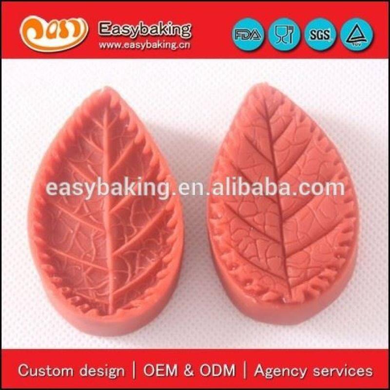 Deft Design Leaf 3D Silicone Veiner Fondant Molds