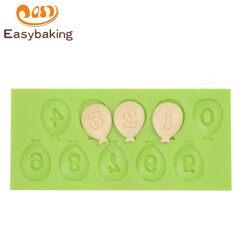3D Alphabet  Shape Silicone Fondant Cake Baking Decoration Moulds