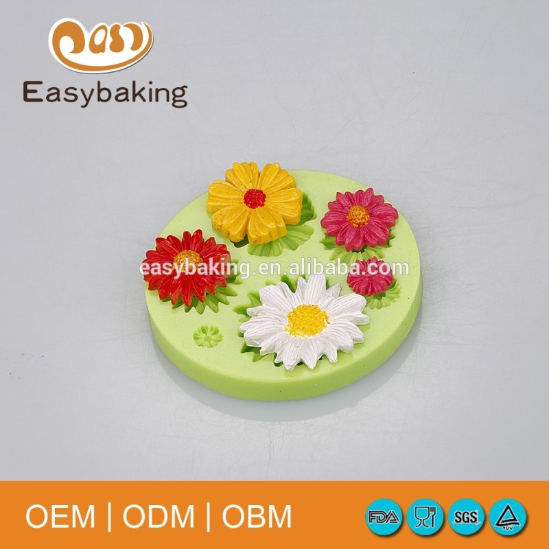High quality frame Cake decoration fondant silicone mould