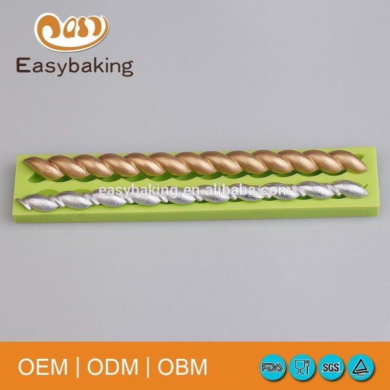 Long strip fondant mold tools cake decorating