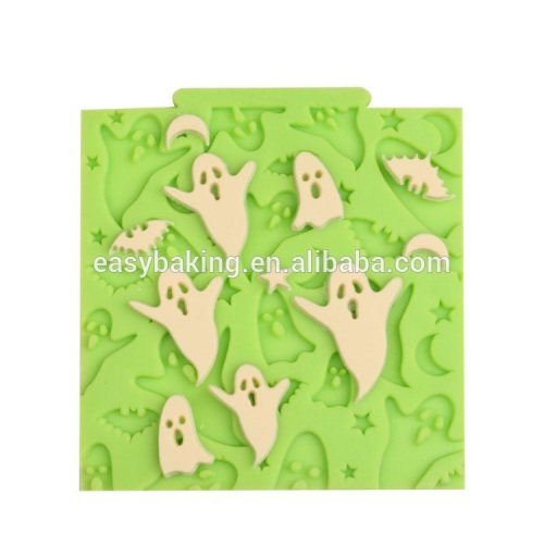 Low price Easter series ghost shape silicone cupcake or fondant cake mould cake decoration