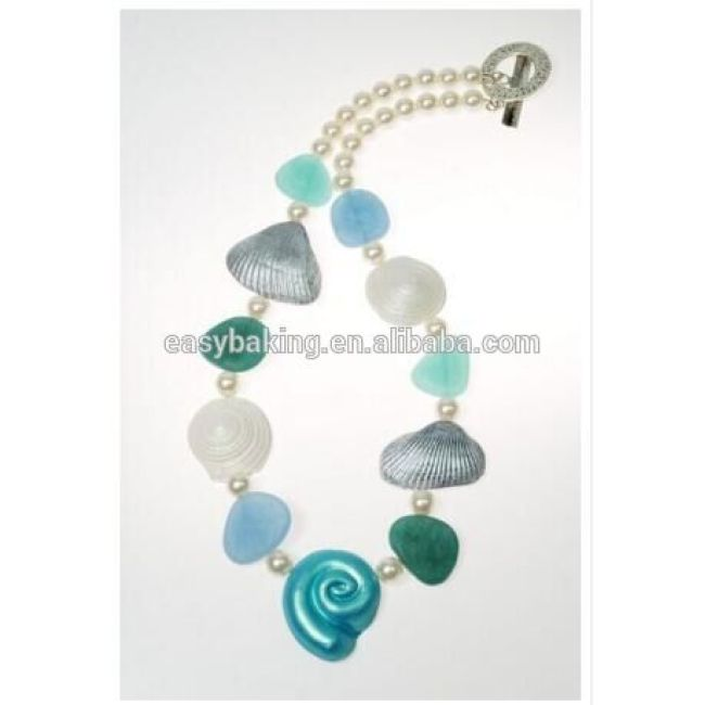 Ocean Theme Handmade Necklaces Accessories Polymer Clay Silicone Mold Putty
