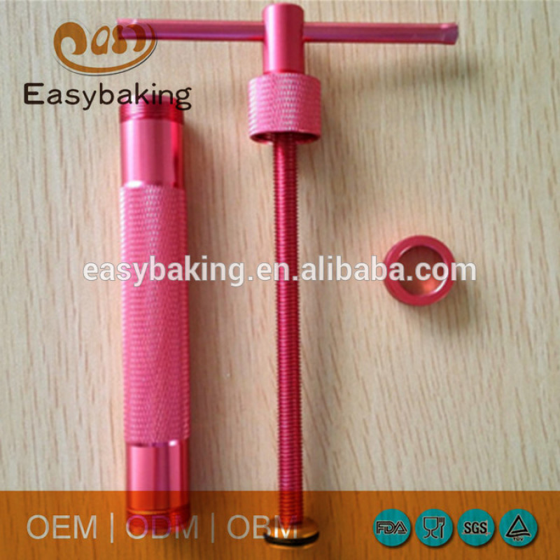 20 Discs Cake Decoration Metal Fondant Red Clay Extruder
