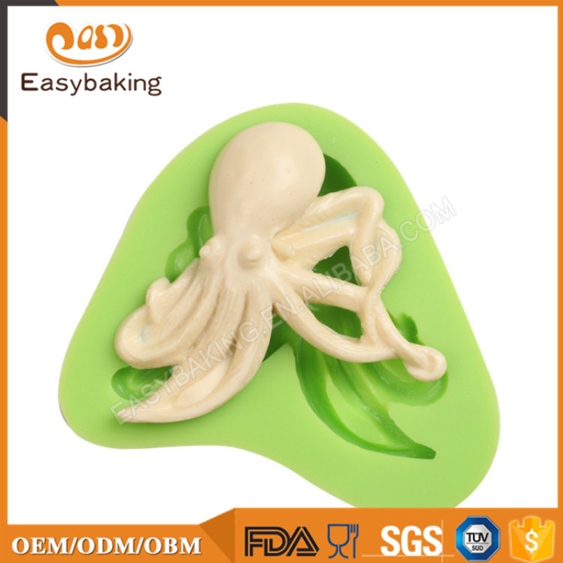 Ocean Animal Plaster Octopus Silicone Mould