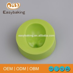 Cake decorating tools lady face silicone mold for fondant