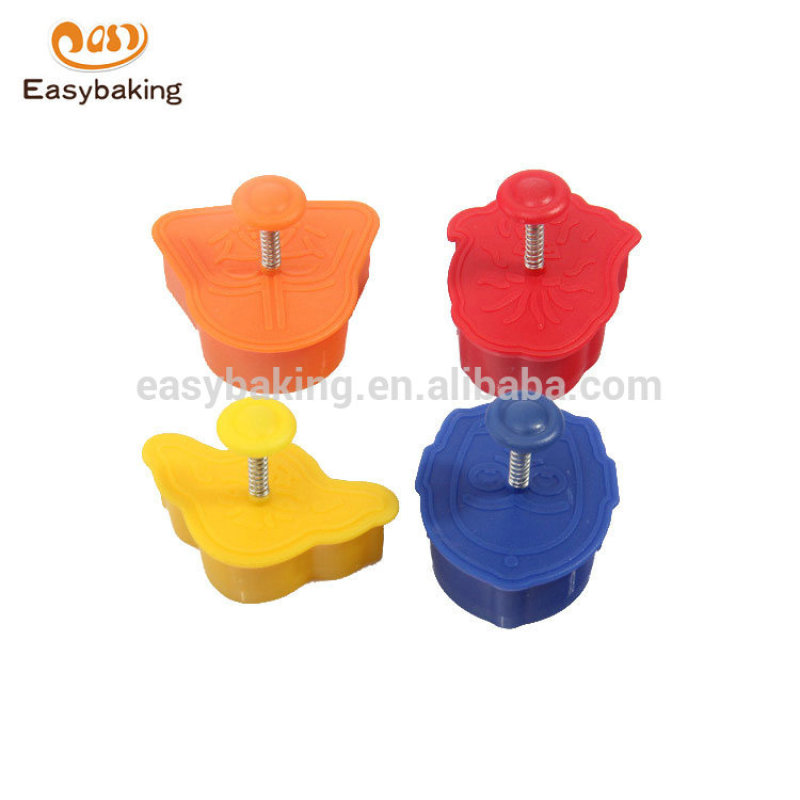 Hot sale high quality Food Grade plastic Different shape cookie cutter