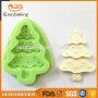 Christmas design high quality craft gummi silicone molds