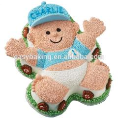 Aluminum 3D Cartoon Cake Mold Teddy Bear Decoration Baking Pan