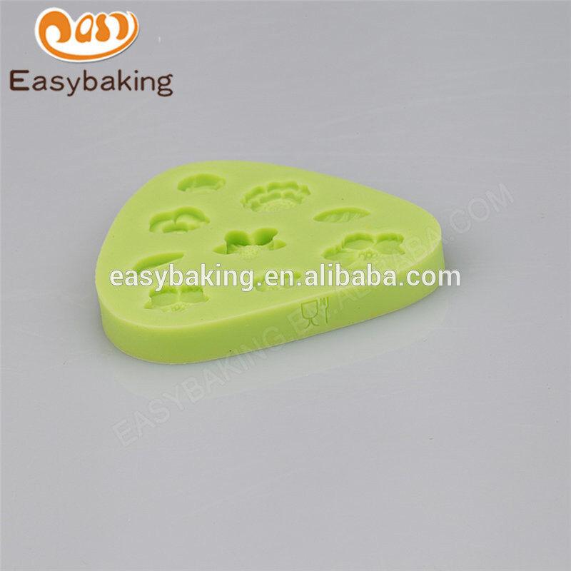 China alibaba factory supply food grade homemade flower cake mold