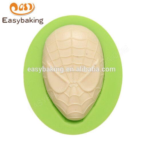 2017 new design china wholesale spiderman mask silicone molds