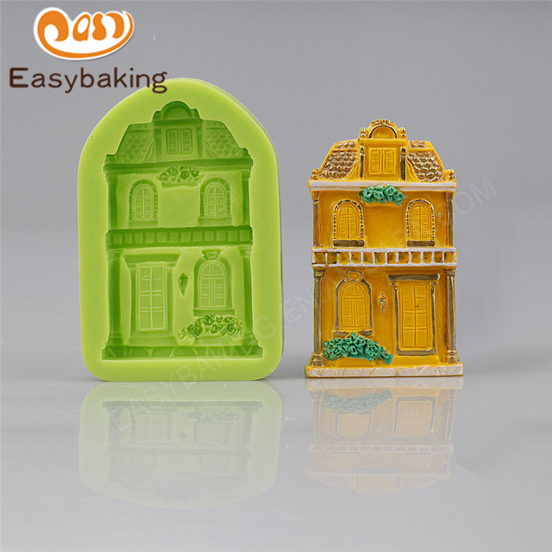 Classic Door Silicone Sugarcraft Mould Cake Baking Pastry Tools