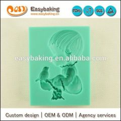 Custom boy silicone soap molds for cake decorating and Arts & Crafts