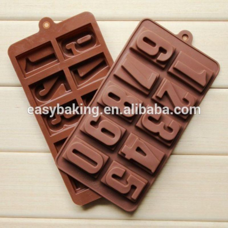 Best-Selling Number Chocolate Melting Mold Suppliers