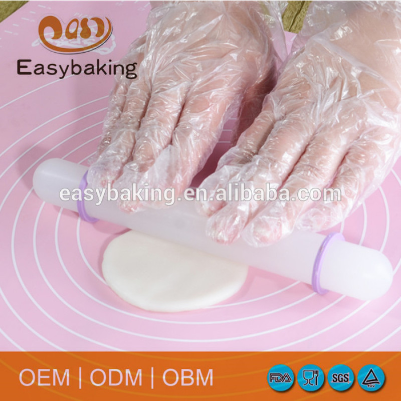 Non Stick Baking DIY Cake Tool Plastic Rolling Pin Adjustable Rolling Pin