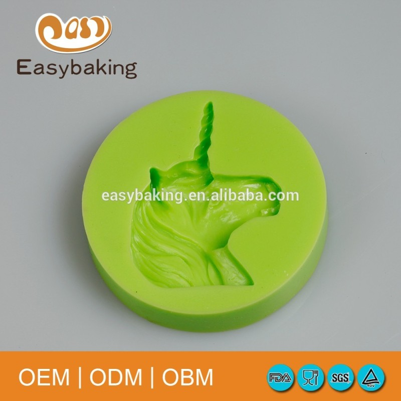Funny Making Cookie Decorating Horse Silicone Birthday Cake Mould