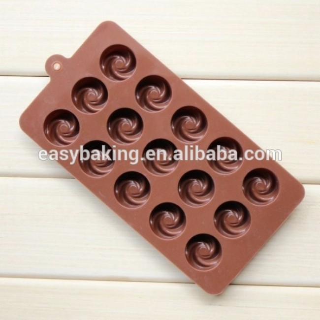 Hot Selling Products Round Cavity Chocolate Mold Custom