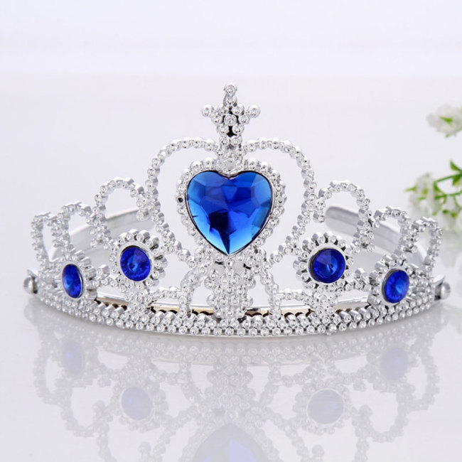 Children Tiara Headdress Headwear Cute Princess Crowns Hairband Headdress For Girls Kids Headband Accessories
