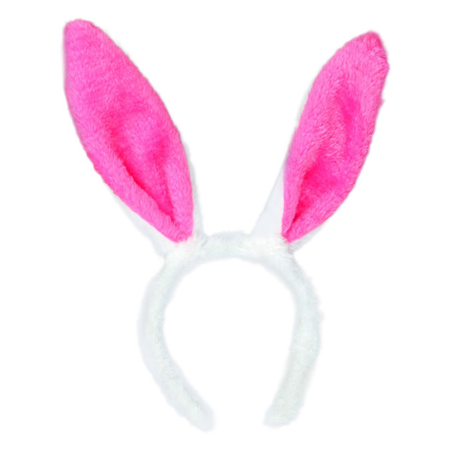 Clothes Accessories Cotton Women Lovely Headband Girls Pink Rabbit Ear Holiday Adult Kids Hairband Hair Accessories