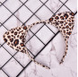New Short Plush Tiger Leopard Cat Ear Headband Cute Women Girls Kids Party Festival Fantastic Hair Accessories HairBand