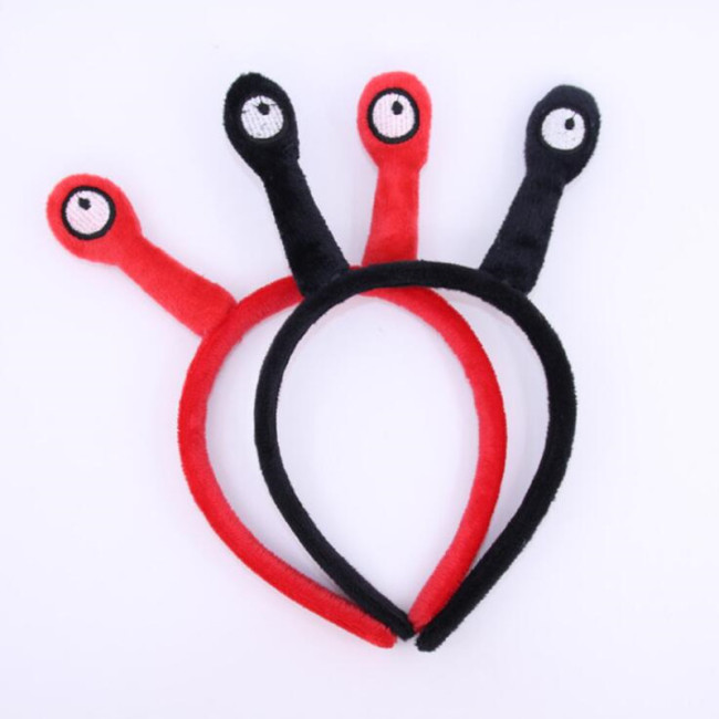 Lovely Snail Antenna Headband Children Adults Cartoon Hairband Headwear Birthday Party Hair Halloween Christmas