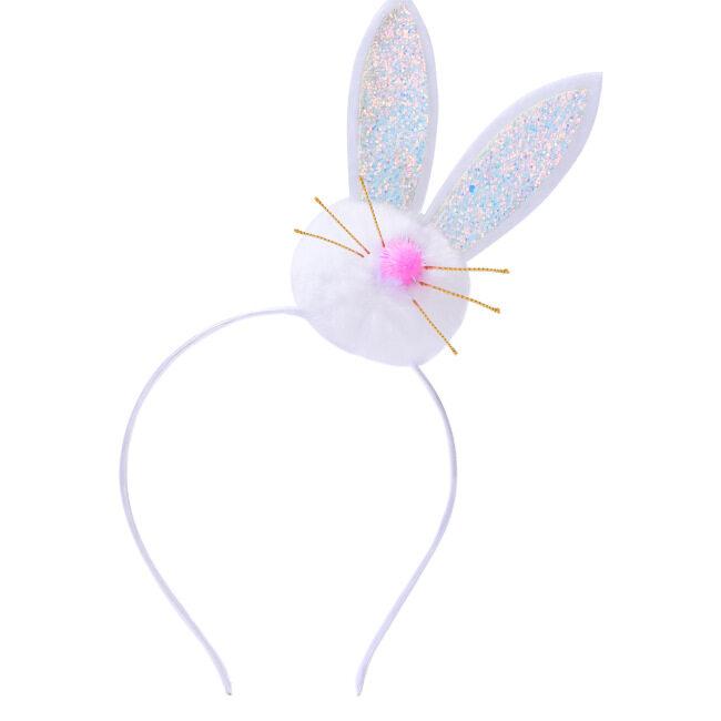 Easter Ear Rabbit Bunny Girl Headband Hairband Headband Hair Hoop for Birthday Carnival Party Headdress Gifts Accessories