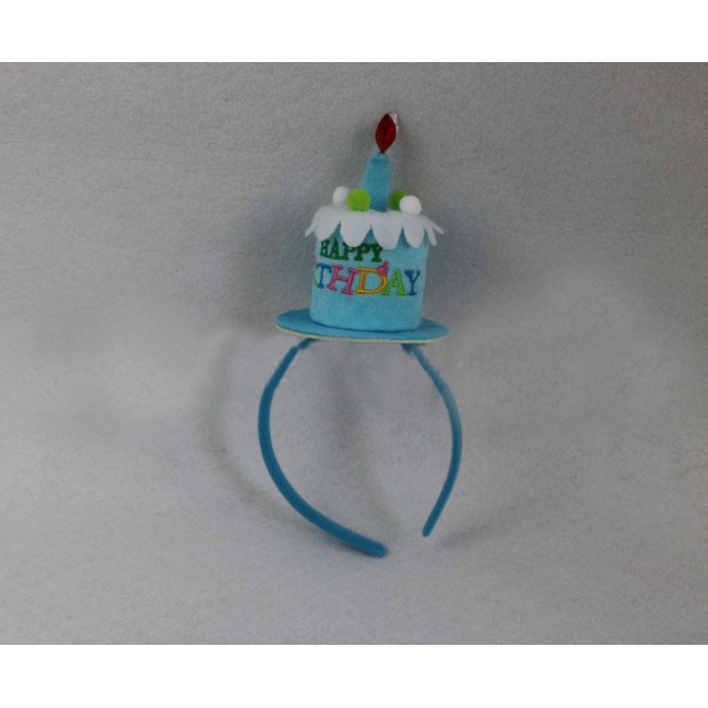 Cake Candle Hairband Headband Headdress For Festival Carnival Party Hair Hoop Costume home decor wedding birthday