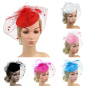 Brand New Fashion Sexy Women Sinamay Fascinator Cocktail Party Hat Wedding Church Headwear Accessories