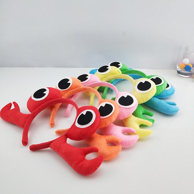 Girl Boy Adult Animal 3D Crab Headband Hairband Party Animal Cosplay Women Birthday Party Gift Halloween Costume for Kids
