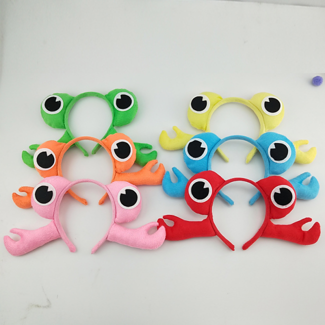 Girl Boy Adult Animal 3D Crab Headband Hairband Party Animal Cosplay Women Birthday Party Gift Halloween Costume for Kids