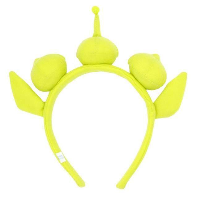 Green Monster Headband Party Headdress Eyeball Hairband Sweatband Headwrap Alien Furry Costume Headdress Gift