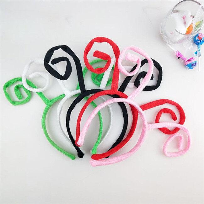 Adult Kids Cute Headband Butterfly Antenna Design Halloween Hair Band Cosplay Costume Headband Hair Styling Cute