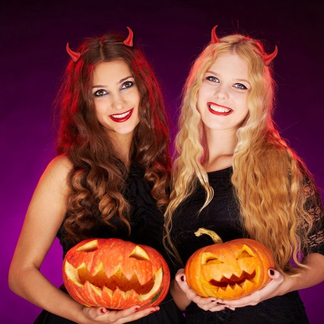 Halloween Decoration Red Horns Hairpin Creative Little Devil Cute Hair Accessories Sell Cute Stage Show Dress Up