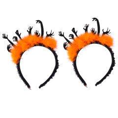 Halloween Carnival Headdress Evil Hand Headband Hair Hoop Party Cosplay Costume Accessory Party Decor Supplies