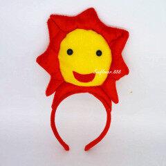 Fashion Children Flower Petal Headband Ears Halloween Carnival Cosplay Costume Hair Accessories Christmas